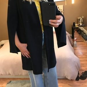 Zara Navy Coat